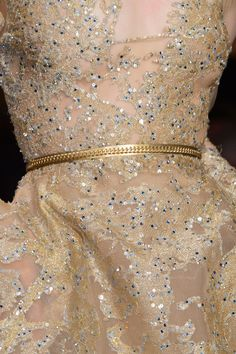 Details at Elie Saab Couture F/W 2015