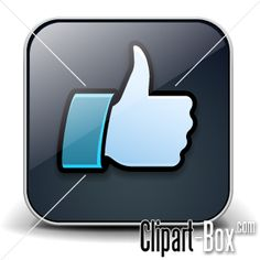 CLIPART I LIKE -  BUTTON
