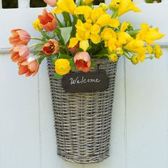 chalkboards, willow house, front doors, tree branches, flats, decor party, new products, welcome baskets, flower
