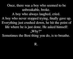 #broken #sad #depression #quote