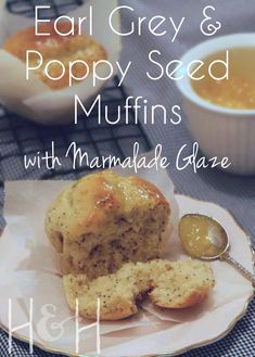 Picture this: it's a rainy, miserable day outside and you're wanting to take a short rest from the day's work. It's early afternoon and even though you're full from lunch, you need a quick afternoon pick-me-up. So you decide to do the right thing: you bake a quick batch of these Earl Grey and Poppyseed muffins, before settling down with a hot cup of tea and a magazine to flick through. Sounds good, no?