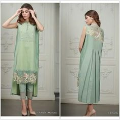 Pakistani Eid outfit by Umaima Mustafa.