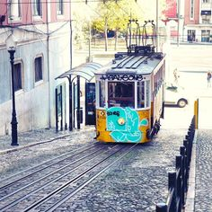 I got off the bus from the airport hangover... Barely had any sleep and what was keeping me awake was the need to find my hostel and have a nap.  It was unexpected of how soon I would come across the iconic Lisbon tram the scene i only have visualized before from others photography or postcards.  There's a certain sense of nostalgia in trams same as the HK trams. The slow and steady transport reminds me of taking things slow and feeling the presence amid of all the modern chaotic fast pace…