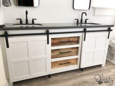 Unique Bathroom Vanities Diy - These seven tips will provide you with all you need to know for choosing a new vanity that is suitable for your area, Diy Bathroom Vanity, Diy Vanity, Bathroom Renos, Bathroom Flooring, Master Bathroom, Bathroom Ideas, Bathroom Organization, Inexpensive Bathroom Vanity, Vanity Ideas