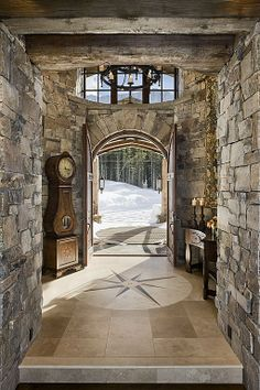 Rustic Entryway - Come find more on Zillow Digs!