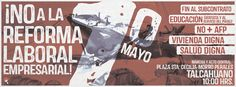 Foto portada 1ro de Mayo en Talcahuano