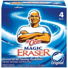 Meet your new BFF, the Magic Eraser. See a long list of infinite uses!