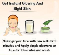 Easy and simple remedy to get bright and glowing skin at home. Beauty Tips For Glowing Skin, Remedies For Glowing Skin, Skin Care Remedies, Beauty Skin, Herbal Remedies, Clear Skin Face, Face Skin Care, Skin Tips, Skin Care Tips