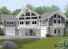 Carriage House Series - Woodhouse The Timber Frame Company Garage Plans With Loft, Plan Garage, Garage Ideas, Timber Frame Home Plans, Timber Frame Homes, Garage Apartment Plans, Garage Apartments, Garage Floor Paint, Garage Flooring