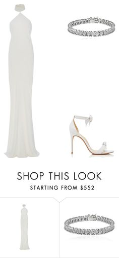 """""""Nicole Kidman"""" by pjhappy ❤ liked on Polyvore featuring Brandon Maxwell, Apples & Figs and Alexandre Birman"""