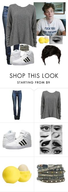 """Justine Xavier telling Lip that she's pregnant with Ian's baby"" by j-j-fandoms ❤ liked on Polyvore featuring Étoile Isabel Marant, adidas, Eos, Good Work(s) Make A Difference and shameless"