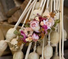 Flower quarter head wreath head piece colorful summer flower