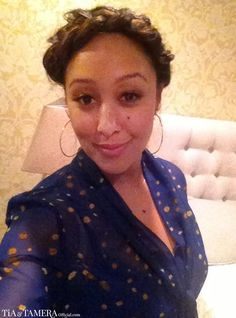 5-Minute Chic: Braided Hairstyles - Tamera Mowry with a Milkmaid braid