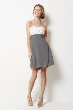 love this dress with one of the chocolate, flora, or goldenrod colors on the bottom!