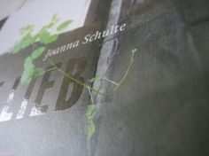 hardin kirsch - grafik design - buchgestaltung - werbung - joanna schulte