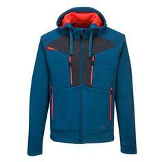 Sudadera elástica con capucha y cremallera DX4 Hooded Jacket, Athletic, Zip, Sports, Jackets, Outdoor, Fashion, Padded Jacket, Hooded Sweatshirts