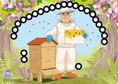 Interactieve praatplaat voor kleuters thema bijen, by Petra van Ginkel van kleuteridee, TOUCH this image to discover its story. Image tagging powered by ThingLink