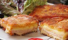 Кашкавал пане с шунка - Рецепта. Как да приготвим Кашкавал пане с шунка. Кликни тук, за да видиш пълната рецепта.
