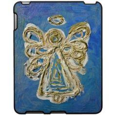 Blue Angel Wings iPad Case