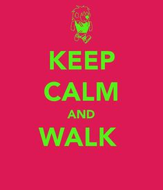 Love me a walk! I walk when I'm ticked off and I'm always calmed down by the time I get back home :)