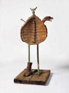 Femme1969 Painted bronze (lost wax casting). Fonderie T. Clementi, Meudon, Paris 110 x 60 x 30 cm