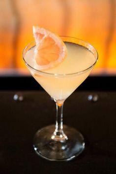 Farewell to Arms! Bacardi 8 Rum, Maraschino Liqueur, Grapefruit, Lime