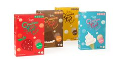 Pereg - Quinoa Pops — The Dieline | Packaging & Branding Design & Innovation News