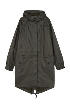 Fred Perry - Fishtail Parka Hunting Green