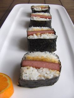 Spam Musubi 101
