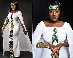 LATEST TRADITIONAL DRESSES : ANKARA SHWESHWE CELEBRITIES 2019