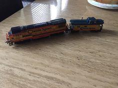 Bachmann Chessie System C&O #4127 Locomotive & Caboose HO Scale #Bachmann