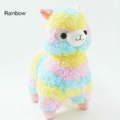 Petit lama Alpacasso Rainbow