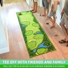 Golf Mats, Golf Gadgets, Felt Play Mat, Golf Training Aids, Putt Putt, Sports Toys, Gadget Gifts, Family Game Night, Play Golf
