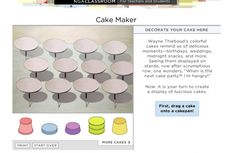 wayne thiebaud cake maker website - how awesome!  have to go through a blog to get to it?!?