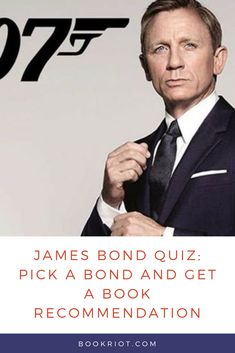 We're got a fun little quiz: Pick your James Bond and we'll tell you what book to read.   book quiz | james bond quiz | book recommendations | quizzes for book lovers