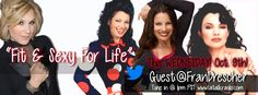 The fabulous Fran Drescher visits Fit and Sexy for Life with Kathy.  What a blast.  Take a listen in my archive of shows.  www.latalkradio.com