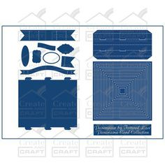 Tattered Lace Panorama Card Collection (332579) | Create and Craft
