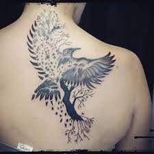 Bildergebnis für kleine tattoos raven