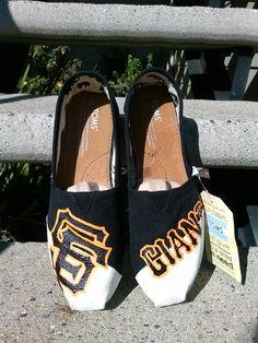 SF Giants Toms by www.Facebook.com/KicksByClutch http://sfbayhomes.com