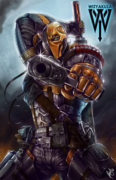 Deathstroke by ~wizyakuza