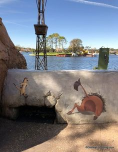 Be on the lookout for some hidden treasures all over World Showcase during the 2019 Epcot Festival of the Arts. Disney characters have been painted into several Disney Secrets, Disney Tips, Disney Food, Disney Stuff, Disney Pixar, Disney Characters, Disney Travel, Disney Vacations, Big And Beautiful