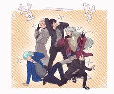 Ensemble Stars, Character Development, Mystic Messenger, The Magicians, Knight, Anime, Fan Art, Manga, Artist