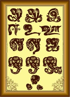 Gods Account: Tamil Letter Vinayagar - Full set
