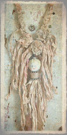 Bohemian Gypsy Tassel Doll Necklace by Staffordshire Garden / Shari Replogle, via Flickr