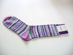 Men's Colorful Multi-Color Striped Socks One Size NWT Neiman Marcus