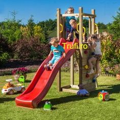 Free delivery over to most of the UK ✓ Great Selection ✓ Excellent customer service ✓ Find everything for a beautiful home Garden Climbing Frames, Kids Climbing Frame, Backyard Playground, Backyard For Kids, Diy For Kids, Cardboard Crafts Kids, Hgtv Dream Homes, Escalade, Backyard Makeover