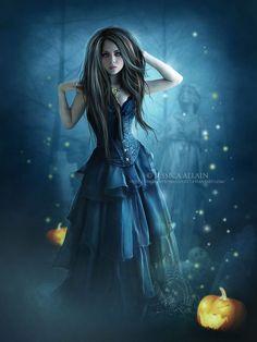 Sorcière Witch  Gothic and Fantasy - Gothique et Fantasy