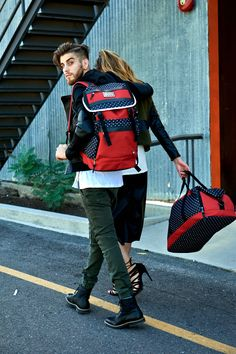 Relevant Nature! The London duffle bag and Tokyo rucksack. @relevantnature www.relevantnature.com