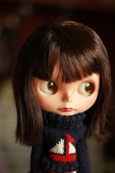 Rosie red sbl (Custom blythe doll) by Medicine machine, via Flickr