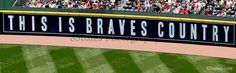 Braves baseball fans cheer on Atlanta this spring with by 83Bates, $35.00